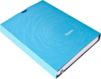 Ежедневник Vivien, недатированный, светло-синий