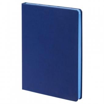 Ежедневник Blues недатированный, синий с голубым