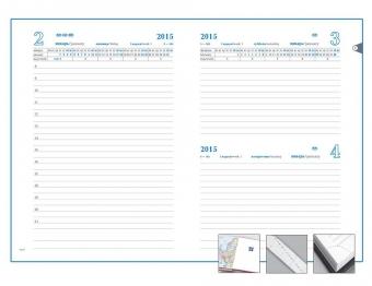 Ежедневник «Футляр», датированный, синий