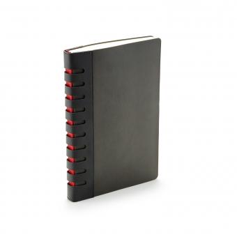 Ежедневник недатированный Bergamo, черный, А5, с индексами