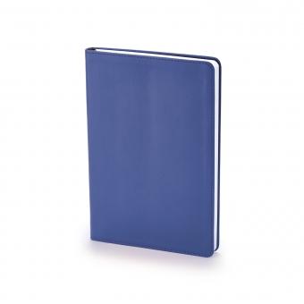 Ежедневник недатированный Stockholm, А5, синий, белый блок, без обреза