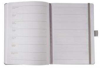 Еженедельник Freenote, недатированный, серый
