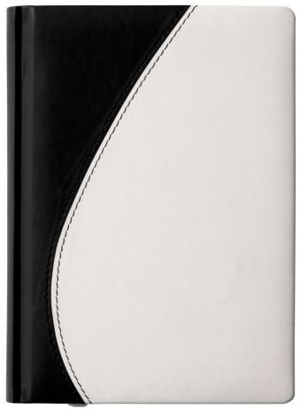 Ежедневник «Капля», черно-белый, датированный