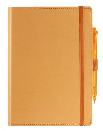 Ежедневник Soft Book, мягкая обложка, недатированный, оранжевый