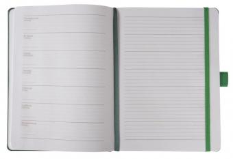 Еженедельник Freenote, недатированный, зеленый