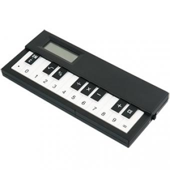 Музыкальный калькулятор; черный; 14,4х6,7х1,7 см; пластик; тампопечать