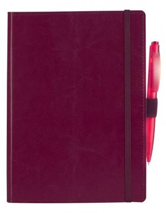Ежедневник Soft Book, мягкая обложка, недатированный, бордовый