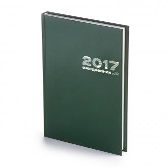 Ежедневник датированный Бумвинил, А5, бордовый, белый блок, без обреза, твердый переплет