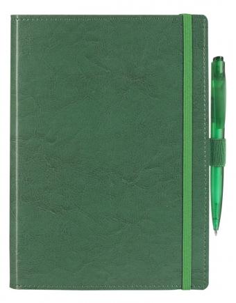 Ежедневник Soft Book, мягкая обложка, недатированный, зеленый