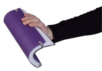 Ежедневник Vivid Colors в мягкой обложке, недатированный, фиолетовый