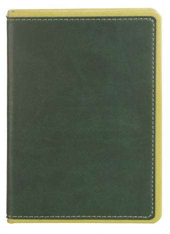 Ежедневник FreeNote Small, недатированный, зеленый