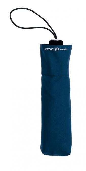 Зонт «Антишторм» складной, синий