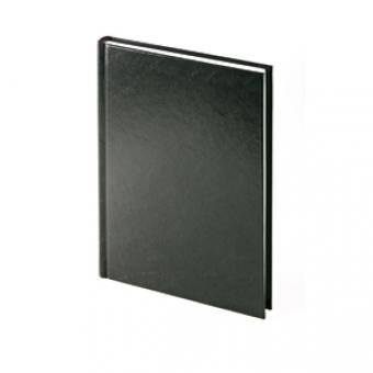 Ежедневник датированный Ideal New, А5, черный, белый блок, без обреза