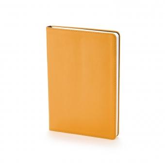 Ежедневник недатированный Stockholm, А5, оранжевый, белый блок, без обреза