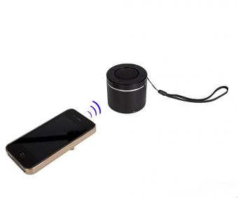 Bluetooth-динамик Round, черный