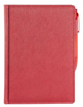 Ежедневник ECLISSE, недатированный, красный
