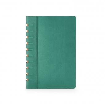 Ежедневник недатированный Bergamo, зеленый, А5, с индексами