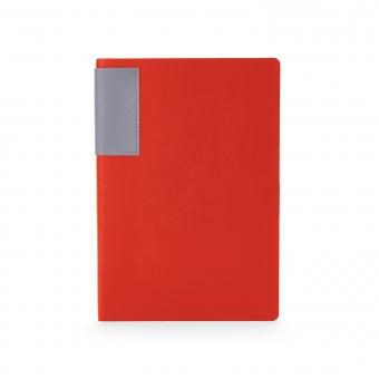 Ежедневник недатированный London, красный, А5