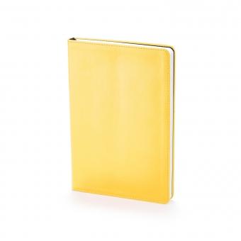 Ежедневник недатированный Stockholm, А5, золотой, белый блок, без обреза