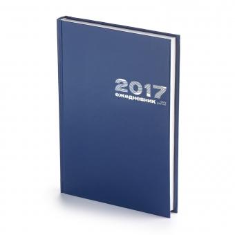 Ежедневник датированный Бумвинил, А5, зеленый, белый блок, без обреза, твердый переплет