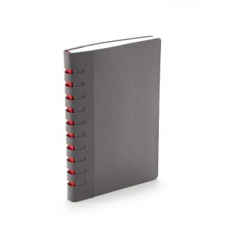 Ежедневник недатированный Bergamo, серый, А5, с индексами