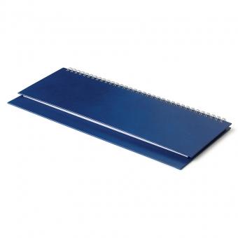 Планинг датированный Ideal New, синий, 305х130 мм, белый блок, открытый гребень