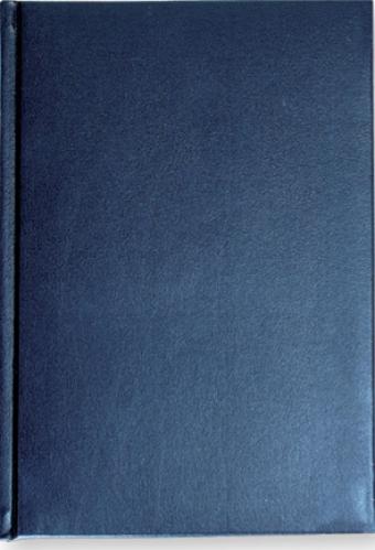 Ежедневник недатированный Ideal New, А5, синий, белый блок, без обреза