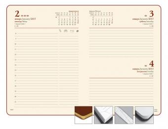 Ежедневник LUXE, датированный, винный