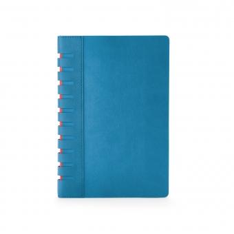 Ежедневник недатированный Bergamo, синий, А5, с индексами