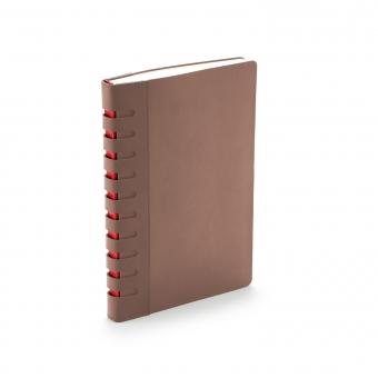 Ежедневник недатированный Bergamo, коричневый, А5, с индексами