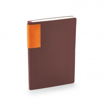 Ежедневник недатированный London, коричневый, А5