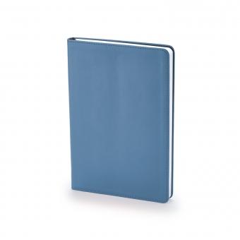 Ежедневник недатированный Stockholm, А5, темно-синий navy, белый блок, без обреза