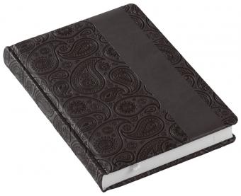 Ежедневник «Турецкие огурцы», недатированный, черный