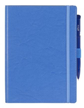 Ежедневник Soft Book, мягкая обложка, недатированный, голубой