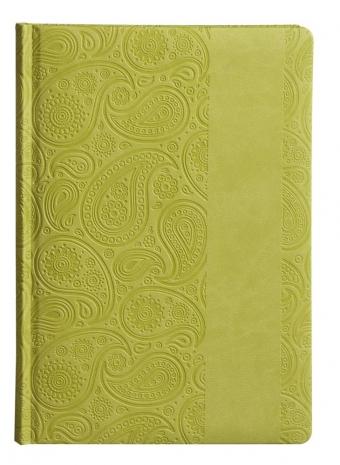 Ежедневник «Турецкие огурцы», недатированный, зеленый
