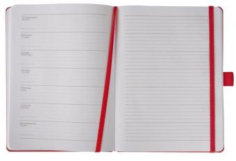 Еженедельник Freenote, недатированный, красный