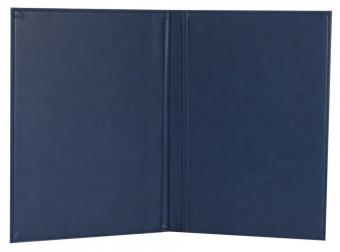 Папка адресная Brand, синяя