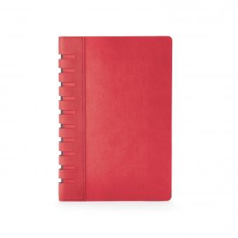 Ежедневник недатированный Bergamo, красный, А5, с индексами