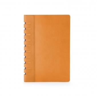 Ежедневник недатированный Bergamo, оранжевый, А5, с индексами