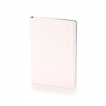 Ежедневник недатированный Stockholm, А5, белый, белый блок, без обреза