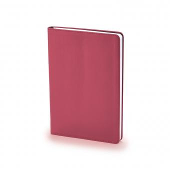 Ежедневник недатированный Stockholm, А5, бордовый, белый блок, без обреза