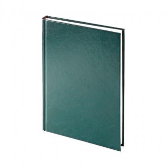 Ежедневник недатированный Ideal New, А5, зеленый, белый блок, без обреза