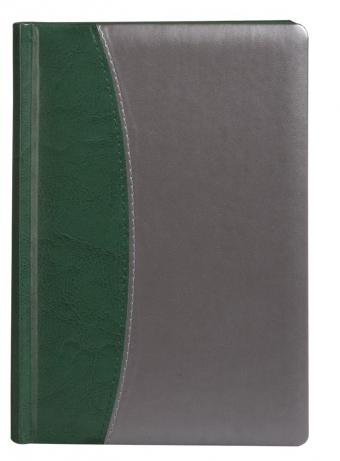 Ежедневник «Скат», зеленый, недатированный