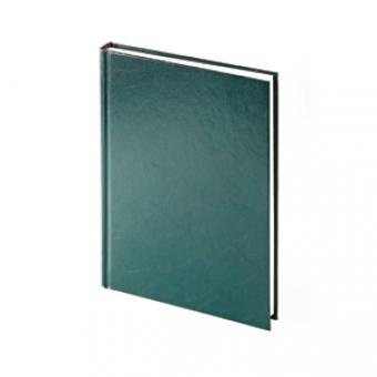 Ежедневник датированный Ideal New, А5, зеленый, белый блок, без обреза