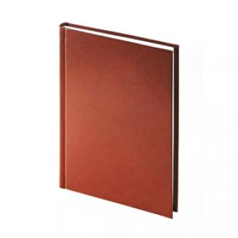 Ежедневник датированный Ideal New, А5, коричневый, белый блок, без обреза
