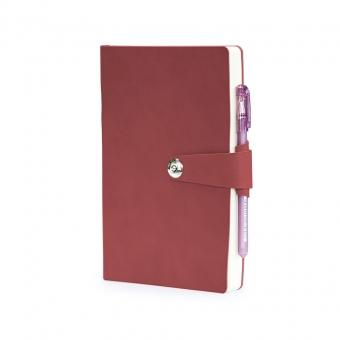 Ежедневник недатированный Primavera, А5, коричневый, бежевый блок, ляссе