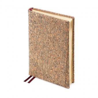 Ежедневник полудатированный Bosco,  А5+, бежевый, золотой обрез, два ляссе