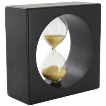 Часы песочные на 3 минуты; 13х6х12,6 см; дерево; шильд