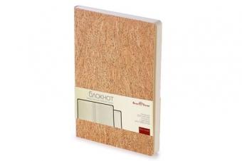 Блокнот клетка Madeira Classic, А5, бежевый, бежевый блок, без обреза