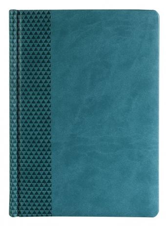 Ежедневник BRAND, датированный, бирюзовый